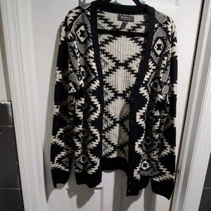 Mens knit cardigan